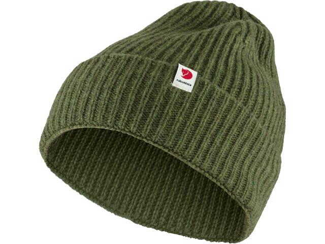 Fjällräven Logo Tab Hat pine green